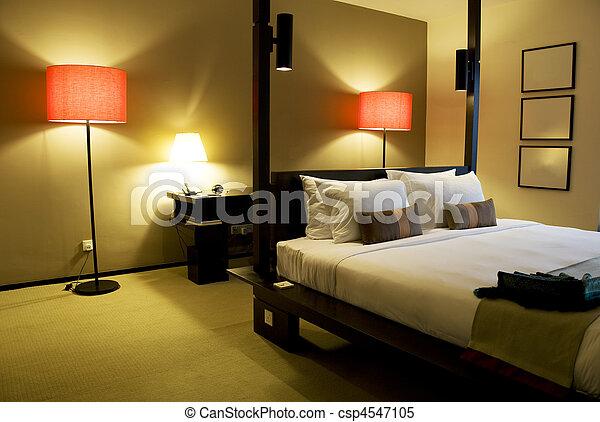 Una habitación cómoda - csp4547105