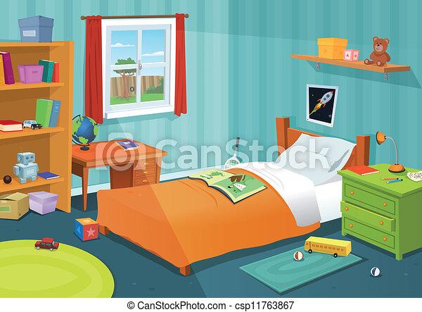Una habitación para niños - csp11763867