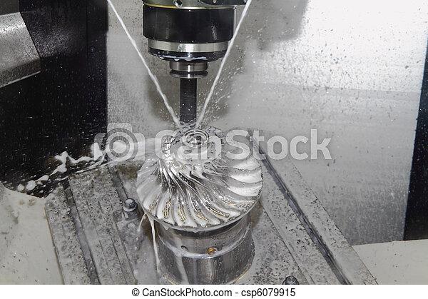 Una máquina de Cnc - csp6079915