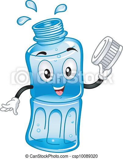 Una mascota de agua hervida - csp10089320
