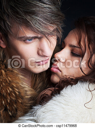 Una pareja enamorada - csp11479968