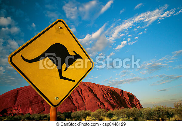 Una roca canguro - csp0448129