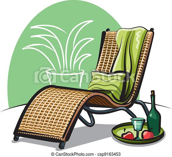 Una silla - csp9163453