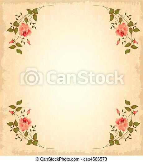 Una tarjeta de felicitación - csp4566573