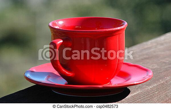 Una taza de café - csp0482573
