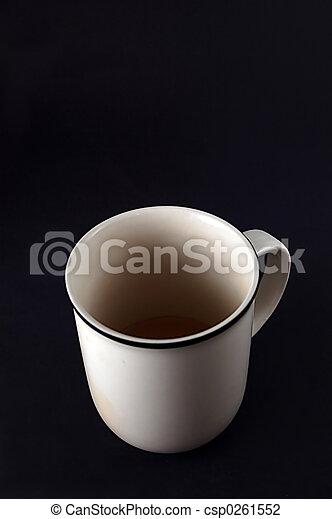 Una taza de café - csp0261552