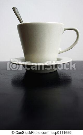 Una taza de café - csp0111659