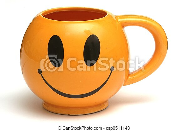 Una taza sonriente - csp0511143