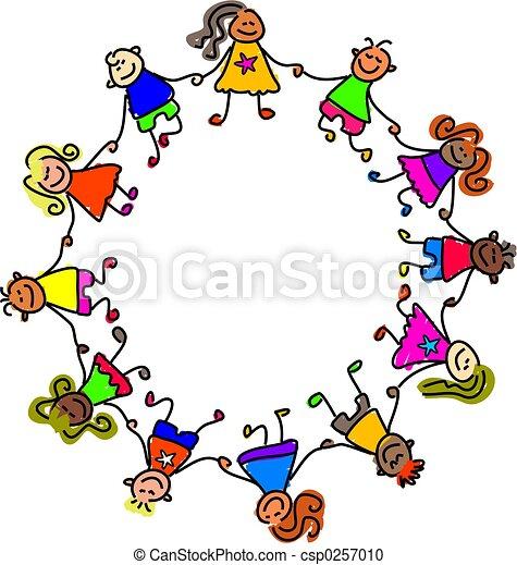 Niños unidos - csp0257010
