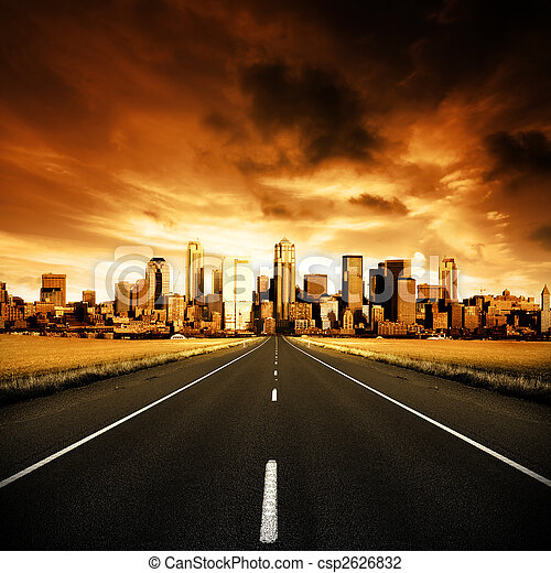 La autopista urbana - csp2626832