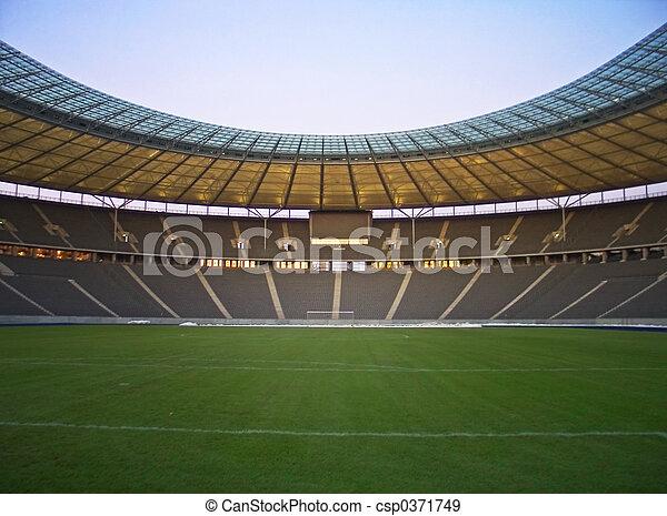 Estadio vacío - csp0371749