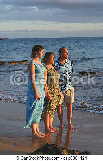 Vacaciones familiares - csp0361424