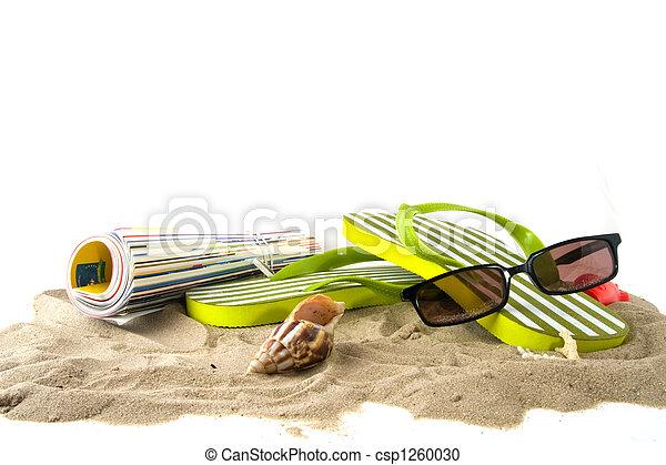 Vacaciones en la playa - csp1260030