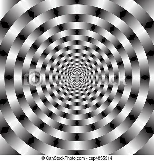 Arte óptico vector - csp4855314