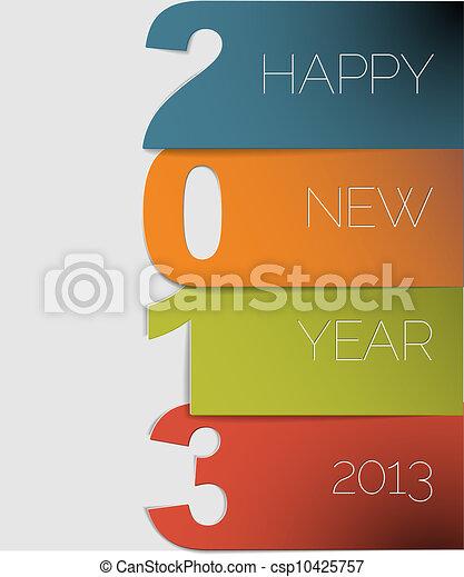 Feliz Año Nuevo 2013 - csp10425757