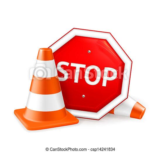 Reparación de caminos, vector - csp14241834
