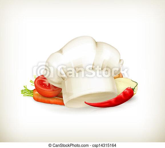 Cocinando el icono del vector - csp14315164
