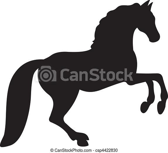 Vector de caballos - csp4422830