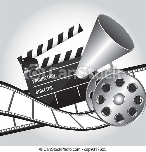 Vector de cine - csp9317625