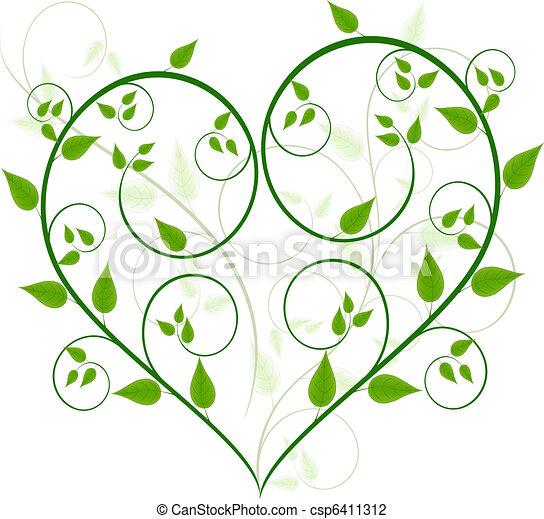 Vector de diseño floral - csp6411312