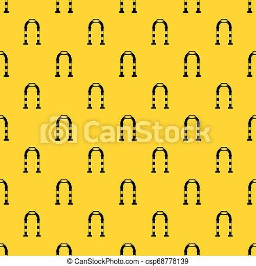 Vector de patrones de arco - csp68778139