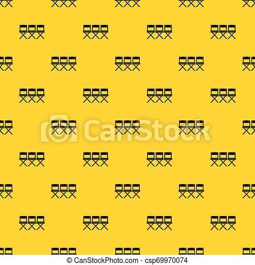 Vector de patrones de sillas - csp69970074