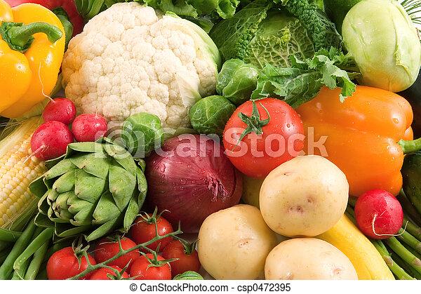 Vegetales - csp0472395