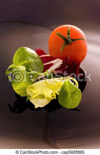 Comida natural, verduras - csp5928865