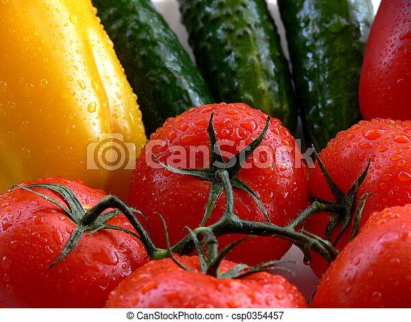 Vegetales - csp0354457