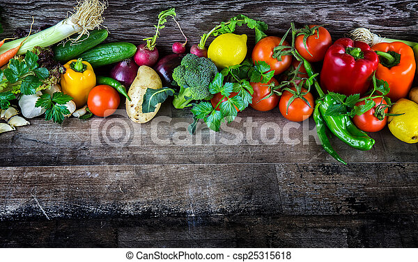 Verduras - csp25315618