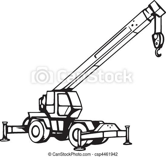 Vehículos de construcción - csp4461942