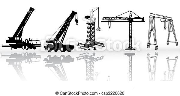 Vectores de construcción - csp3220620