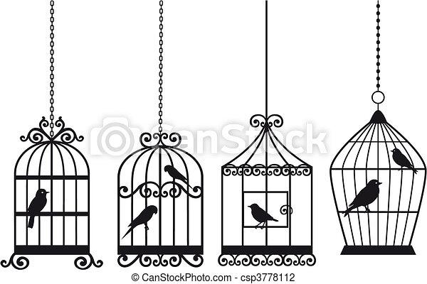 Cápsulas de aves llenas - csp3778112