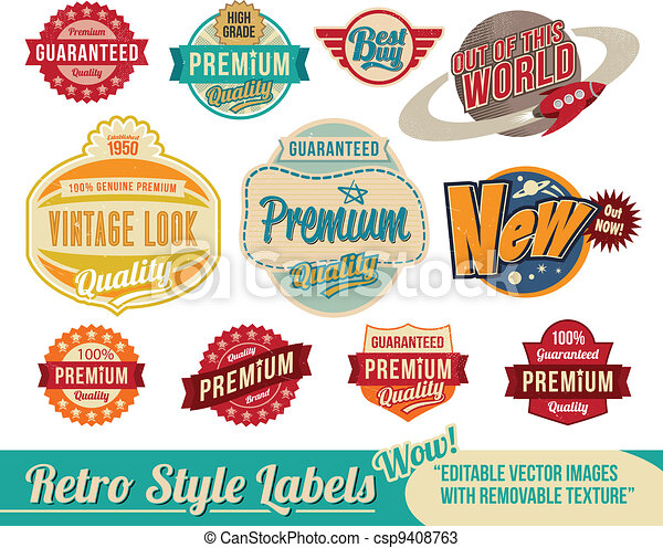 Etiquetas y etiquetas - csp9408763