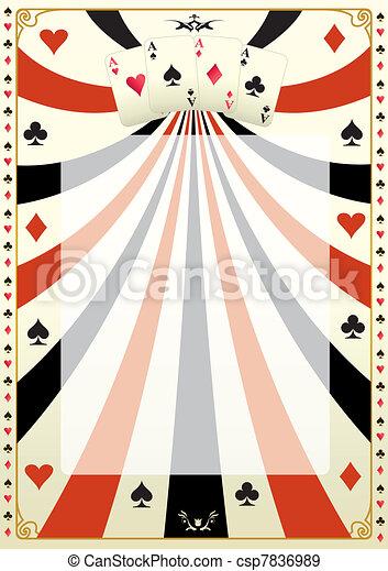Con antecedentes de póquer - csp7836989