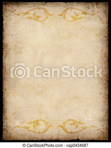 Formularios de papel con patrones - csp0434687