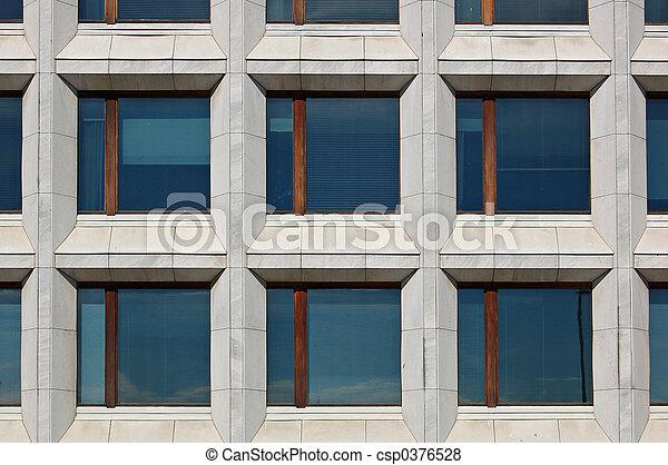 Ventanas de oficina - csp0376528