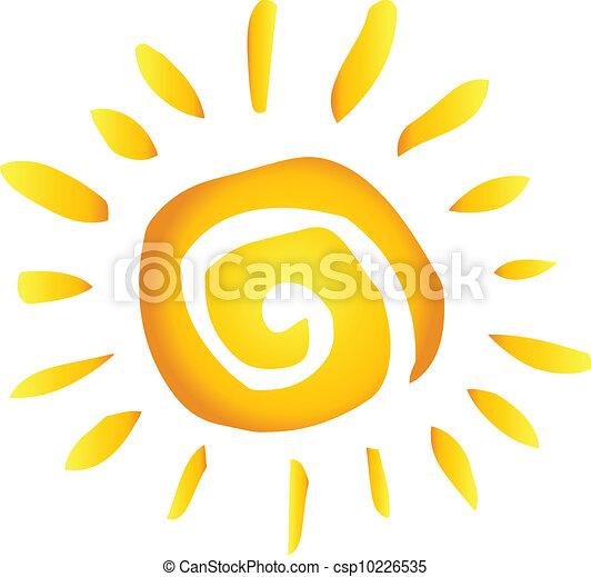 Sol abstracto del verano - csp10226535