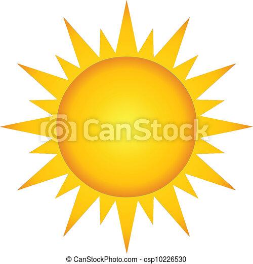 Sol ardiente de verano - csp10226530