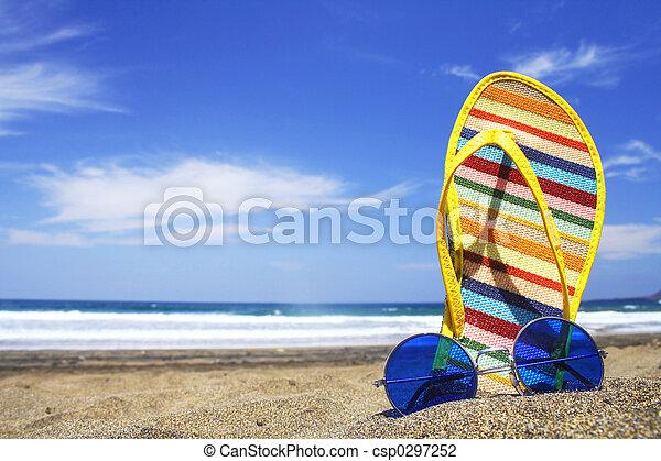 Escena de verano - csp0297252