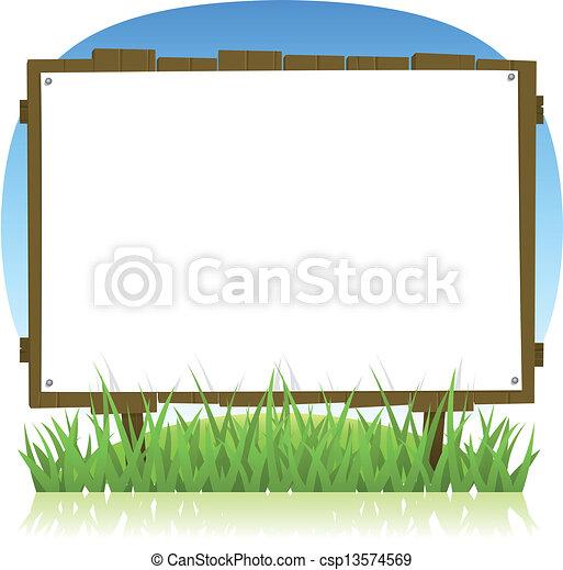 Bodega de madera de verano o primavera - csp13574569