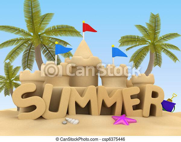 Summer - csp6375446