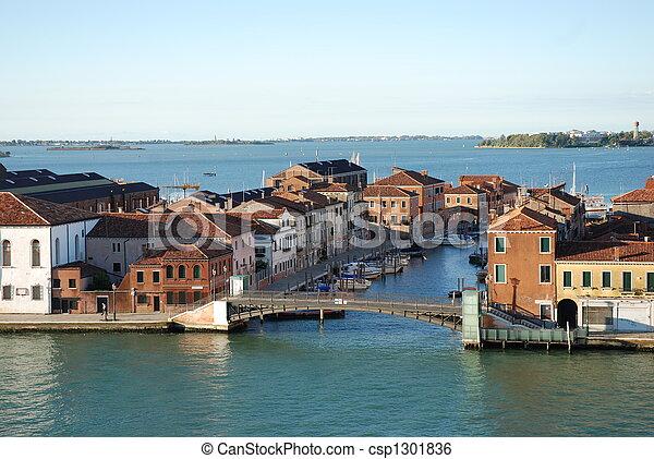 Venecia en verano - csp1301836