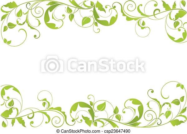 Frontera verde - csp23647490