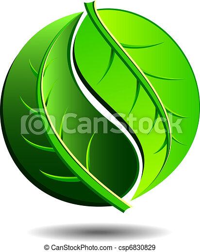 Un icono verde - csp6830829