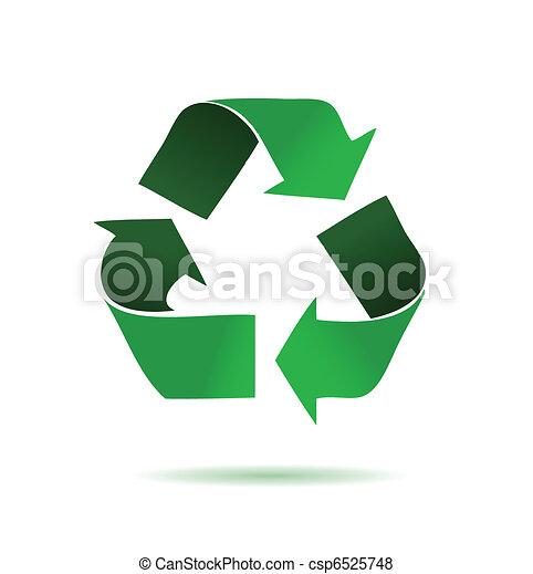 Reciclaje verde - csp6525748