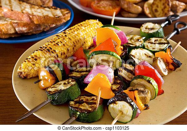 Verduras asadas - csp1103125