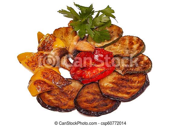 Verduras a la parrilla - csp60772014