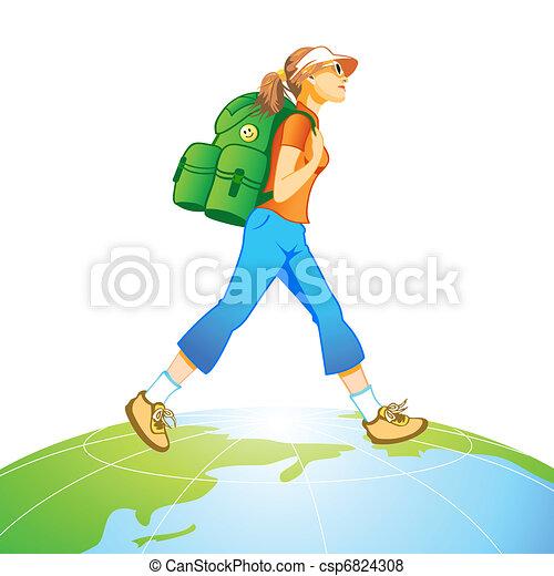 El mundo del viaje - csp6824308