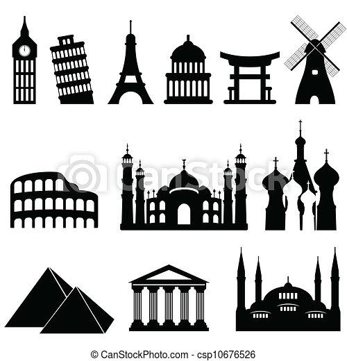 Viajes con monumentos - csp10676526